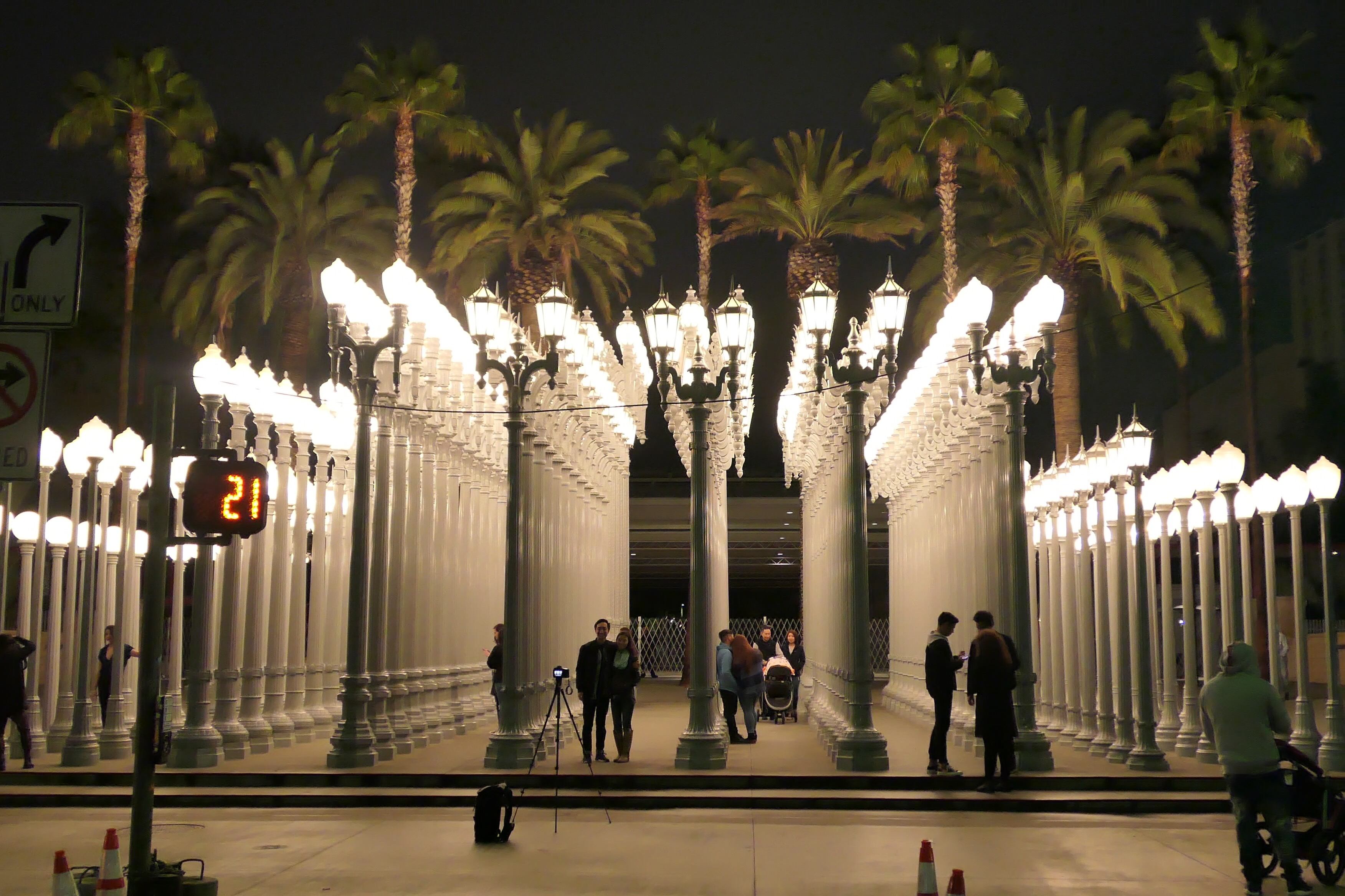 Urban Lights At Lacma Los Angeles Ca Monica Ramos